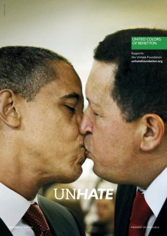 Benetton  Unhate  Campaign Ads  White House Issues Statement on ... 5c16a7af4e1
