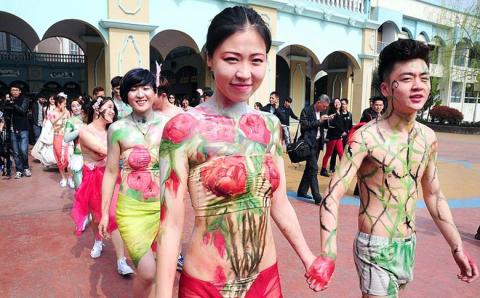 Think, that Naked chinese weddings